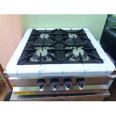 Плита промышленная 4-х конфорочная настольная М015-4N с газ контроллером