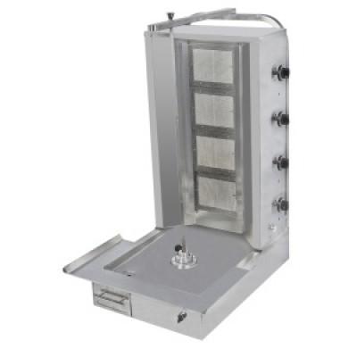 Аппарат для шаурмы с электроприводом (3 горелки)  PAD 001