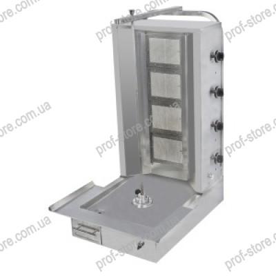 Аппарат для шаурмы с электроприводом (4 горелки) PAD 002