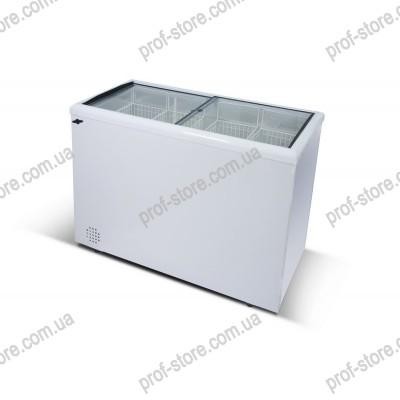 Ларь морозильный с прямым стеклом Inter300С