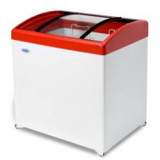 Морозильный ларь с гнутым стеклом СНЕЖ МЛГ-250