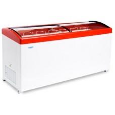 Морозильный ларь с гнутым стеклом СНЕЖ МЛГ-700