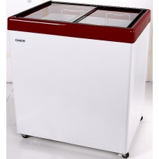 Морозильный ларь с гнутым стеклом СНЕЖ МЛП-250