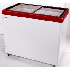 Морозильный ларь с гнутым стеклом СНЕЖ МЛП-350