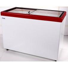 Морозильный ларь с гнутым стеклом СНЕЖ МЛП-400