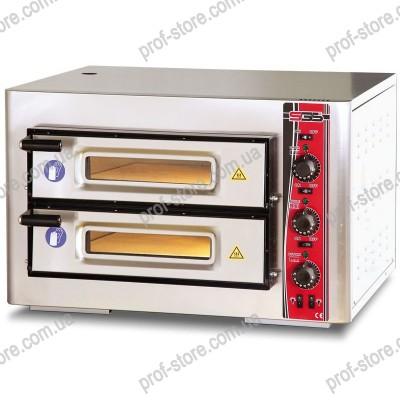 Печь для пиццы двухрядная PO 5050 DE