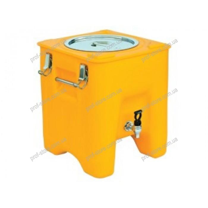 Термоконтейнер для напитков Waterbox 23 lt with faucet AVA PLASTIK