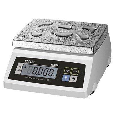 Весы для простого взвешивания влагозащищенные CAS  SW-10W