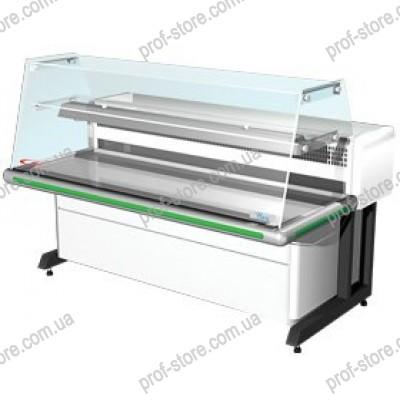Холодильная витрина Bari-1,2(Гнутое стекло)