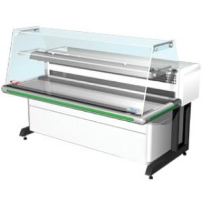Холодильная витрина Bari-1,2(Прямое стекло)