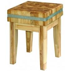 Кухонный стул деревянный для разруба и обвалки мяса Kedr 5160029