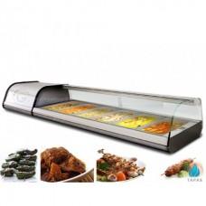 Витрина холодильная GGM Gastro ATAI134