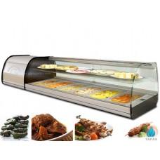 Витрина холодильная GGM Gastro ATAI134Z