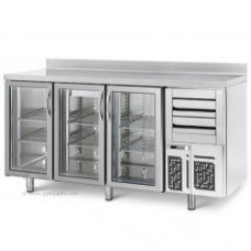 Холодный стол для бара ggmgastro BGI206HG