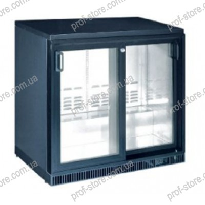 Барный холодильный шкаф HURAKAN HKN-GXDB250-SL