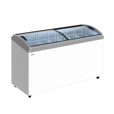 Морозильный ларь ITALFROST СF600С с гнутыми стеклами